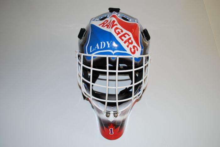 Hockey Goalie Mask Wraps